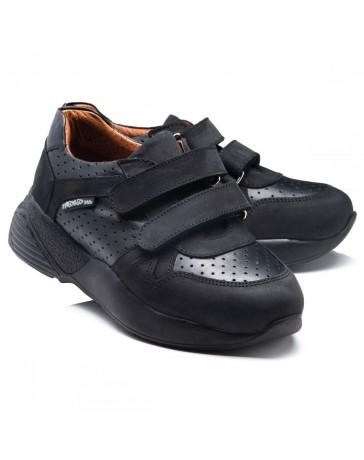 Ортопедические кроссовки Theo Leo RN945 р. 30-40 Черные