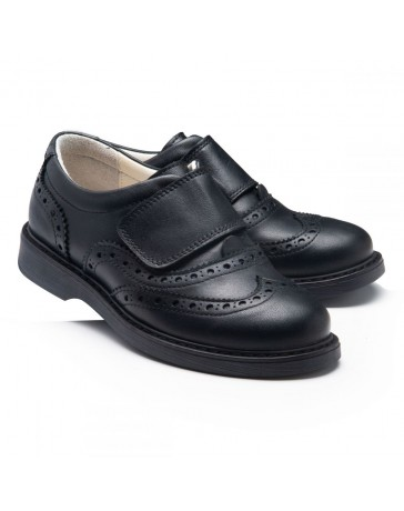 Ортопедические туфли Theo Leo RN967 р. 31-40 Черные