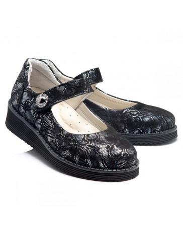 Ортопедические туфли Theo Leo RN960 р. 31-39 Черные