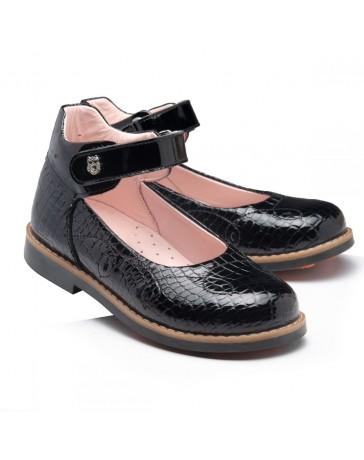 Ортопедические туфли Theo Leo RN949 р. 28-35 Черные