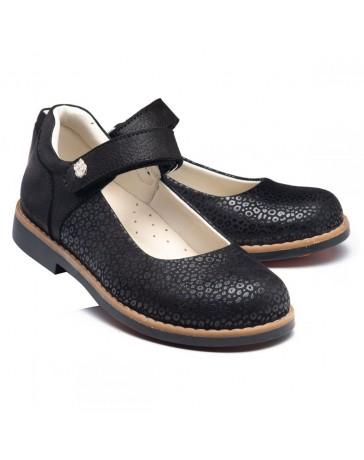 Ортопедические туфли Theo Leo RN950 р. 30-36 Черные