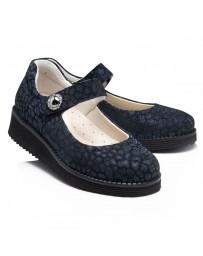Ортопедические туфли Theo Leo RN952 р. 31-39 Черно-синие