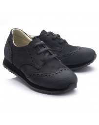 Ортопедические кроссовки Theo Leo RN784 р. 31-40 Черные