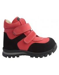 Ортопедические ботинки Perlina 91TEPLOROSE р. 23-26 Розовый с черным