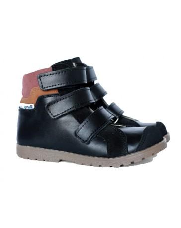 Ортопедические ботинки Mrugała 5100-99 р. 19-36 Черные