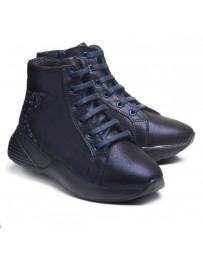 Ортопедические ботинки Theo Leo 999 р. 28-38 Синие