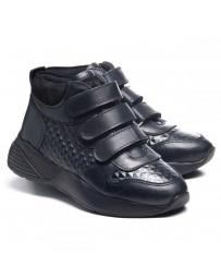 Ортопедические ботинки Theo Leo 1001 р. 28-38 Черные