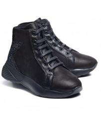 Ортопедические ботинки Theo Leo 1005 р. 30-38 Черные