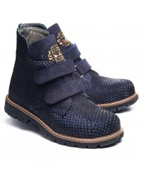 Ортопедические ботинки Theo Leo 1010 р. 31-36 Синие