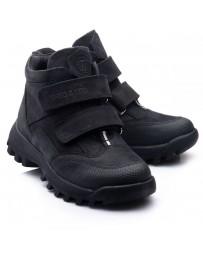 Ортопедические ботинки Theo Leo 814 р. 26-40 Черный нубук