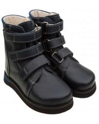 Ортопедические ботинки О-720, с плоской стелькой