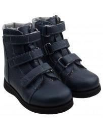 Ортопедические ботинки О-920 зимние, с плоской стелькой