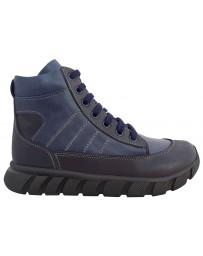 Ортопедические ботинки Perlina 107SHNUR р. 31-36 Синий