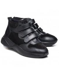 Ортопедические ботинки Theo Leo 1021 р. 28-40 Черные