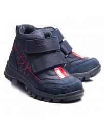 Ортопедические ботинки Theo Leo 1024 р. 21-30 Синие с красной вставкой