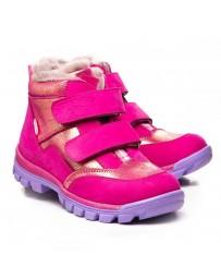 Зимние ботинки Theo Leo 1061 р. 23-33 Малиновые