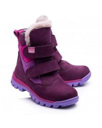 Зимние ботинки Theo Leo 849 р. 26-36 Фиолетовые