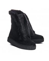 Зимние ботинки Theo Leo 1069 р. 37-40 Черные