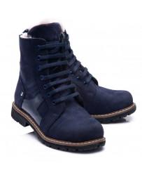 Зимние ботинки Theo Leo 861 р. 26-40 Синие
