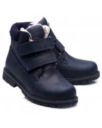 Зимние ботинки Theo Leo 859 р. 26-40 Синие