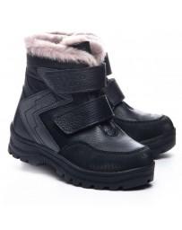 Зимние ботинки Theo Leo 1067 р. 29-35 Черно-серые