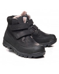 Зимние ботинки Theo Leo 1065 р. 23-40 Черные