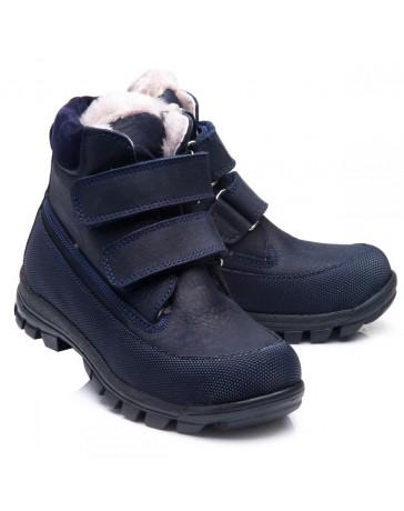 Зимние ботинки Theo Leo 855 р. 23-40 Синие