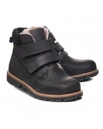 Зимние ботинки Theo Leo 1066 р. 26-40 Черные