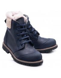 Зимние ботинки Theo Leo 854 р. 26-40 Синие