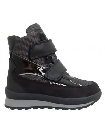 Зимние ботинки Minimen 17LACK р. 31-40 Черный