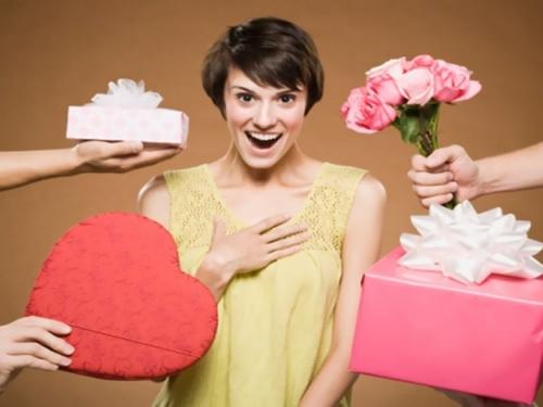 Скидки на подарки для женщин!