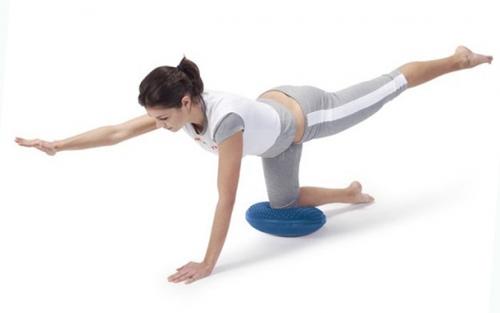 Балансировочная подушка - укрепляем мышцы, развиваем координацию